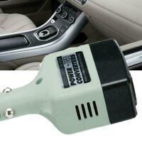 12V 24V DC to AC 220V Portable Car Power Inverter Adapter + Plugs Converter C9H2