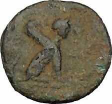 KAUNOS in CARIA 300BC Bull & Sphinx on Authentic Ancient Greek Coin i52353
