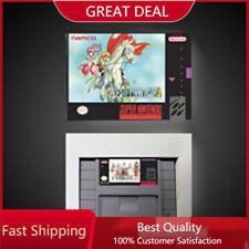 Tales of Phantasia SNES Game Cartridge + Retail BOX NTSC USA version