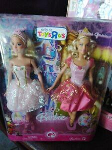Barbie Nutcraker Princess Clara & Genevieve Dolls