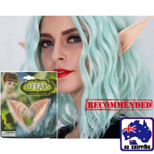 Halloween Costume Party Fake False Elf Fairy Hobbit Pointed Long Ears JEEAR0412