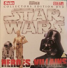 STAR WARS - HEROES & VILLAINS: COLLECTORS EDITION - UK PROMO 2 DVD SET