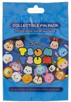 Disney Parks Tsum Tsum Cuties Series 1 Mystery 5 Pin Pack Bag Pouch Sealed - NEW