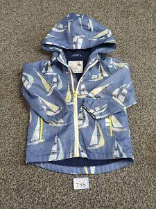 Boys Age 12-18 Months Blue Lightweight Jacket (B788)