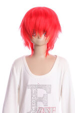 W-01-f2 Chili rojo red 35cm cosplay peluca Wig perruque cabello Hair anime manga
