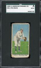 1909-11 E90-1 American Caramel    Tex Irwin    Dodgers    SGC  !!!