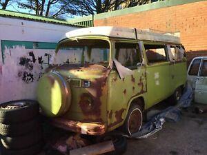 VW WESTFALIA T2 bay window Camper Van