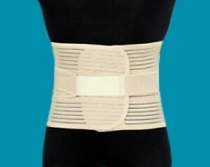 MEDICAL GRADE Lumbar Lower Back Support Belt Steel Bars Washable Extra Support