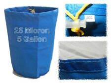5 Gallon 25 Micron Mint Leaf Resin Bag - Bubble, Water & Ice Process - Bags
