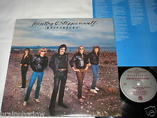 JOHN KAY & STEPPENWOLF wolftracks LP Allegiance Rec. US 1983 INSERT CLASSIC ROCK