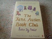 The Jane Austen Book Club - Karen Joy Fowler. PB. vgc.
