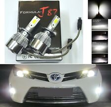 LED Kit C6 72W H7 5000K White Two Bulbs Head Light Low Beam Replace Upgrade Lamp