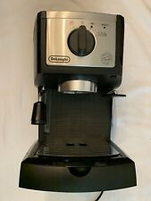 Espresso Cappuccino Coffee Maker - Delonghi High Pressure Black - Used
