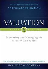 Valuation by Inc. Mckinsey & Company Hardcover Book (English)