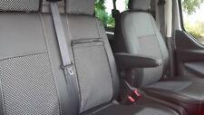 Ford Transit Custom ab 2013 Passform Sitzbezüge Schonbezüge Kunstleder-Stoff 2