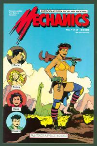 Mechanics #1 VF Fantagraphics 1985 Love & Rockets