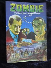Zombie The Living Dead, A History Of Zombie Movies - original first edition