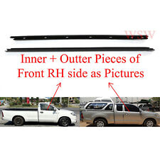 DOOR BELT WEATHER STRIP RUBBER FOR FRONT RIGHT TOYOTA HILUX 05-15 SINGLE OR CAB