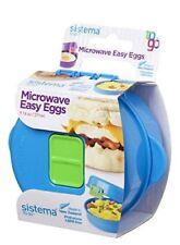 Assorted Sistema Microwave Easy Egg Cooker Poached Scrambled Omelette Maker
