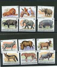 Burundi 1983 Scarce Animals Scott# 589-600 mint LH