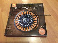 Solar powered Ultra Bright LED Light Emitting Diode Sun Wall Art