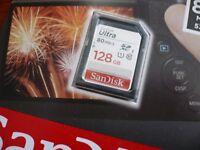 Ultra Speed - 128GB SDXC SD XC CLASS 10 for SONY ALPHA a6000 ILCE-6000