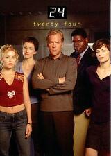TWENTY FOUR 24 TELEVISION SHOW SEASONS 1 & 2 2003 COMIC IMAGES PROMO CARD P3