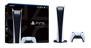 Sony PlayStation 5 Digital Edition **In Stock- Ready to Ship**