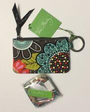 new brand VERA BRADLEY ZIP ID CASE & LANYARD SET flower shower    GIFT