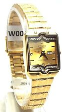 New Citizen Ladies Gold-tone 38 Genuine - Crystals Dress Watch