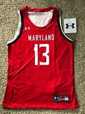 Maryland Terrapins Womens Basketball Jersey Under Armour Sz 18 L