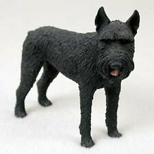 Schnauzer, Gaint, Black, Dog Figurine, Standard Size