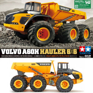 Tamiya 58676 1/24 Volvo A60H Hauler G6-01 6x6 Pre-Painted Cab Off-Road Truck Kit