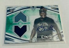 B16,204 - 2020 Undisputed WWE Dual Relic Autograph Green R-Truth #44/50