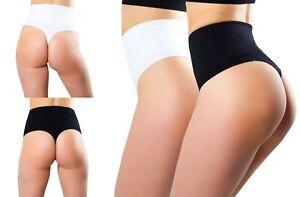 Damen Mieder-String Taillenformer Shapewear Bauchweg Schwarz oder weiß Gr.L/XL