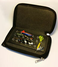 SPINNER LURE WALLET AND LURES GREAT CHRISTMAS PRESENT
