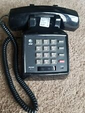 AT&T Black Touch Tone Push Button Business Desk Phone