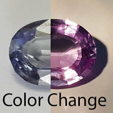 4.06 CTS EYE TOP CLEAN AMAZING COLOR CHANGE NATURAL ALEXANDRITE