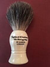New- Taylor of Old Bond Street Badger Shaving Brush - Ivory