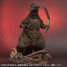 X-Plus Godzilla 1954 Figure Train Bite RIC color Limited Light up Rare JAPAN EMS