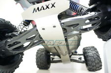 Traxxas X-Maxx 6S 8S Stainless Steel Skid Plate Chassis Battery Protect Armor