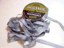Light Gray Seam Binding x 100 Yards, Rayon, Hug Snug, Nickel Gray Ribbon