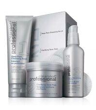 Avon Clearskin Professional Acne Treatment System 3 Steps Scrub,Pads,Lotion Set
