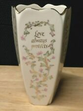 Lenox 5 Sided Love Vase New With Tag