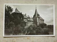 AK alte Ansichtskarte Lauf an der Pegnitz Kaiser Wenzel Schloß Foto Fotokarte