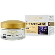 L'Oreal Age Specialist 55+ Night Face Cream Anti-Wrinkle Restoring Nourish 50 ml