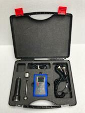 AIMIL AIM 610 DIGITAL VIBRATION ANALYZER WITH CASE & ACCESSORIES