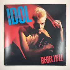 Billy Idol Signed Autographed Rebel Yell Album Vinyl COA