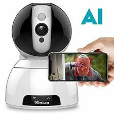 Wireless Security Camera Indoor-Vimtag Surveillance IP Camera, Dome 1080P HD