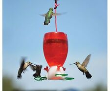 Songbird Essentials BIG RED 10 oz. HUMMINGBIRD FEEDER, #SE952, FREE USA SHIPPING